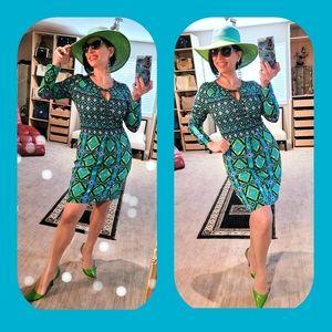 Hale Bob gorgeous and vibrant dress